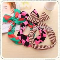 Magicaf Bunny Ears hair bands headband hair band polka dot stripe bow tie headband hair accessory bow  bands hair accessory