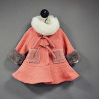 2014 winter  children's  girls clothing fashion  30%  woolen girl overcoat child overcoat . free shipping