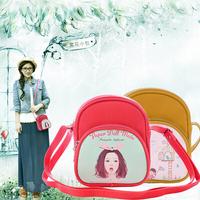 2015 new arrival classic cartoon women's handbag cartoon shoulder messenger bag bags