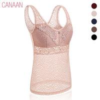 Wireless thin sexy lace spaghetti strap vest one piece bra female seamless long design none underwear