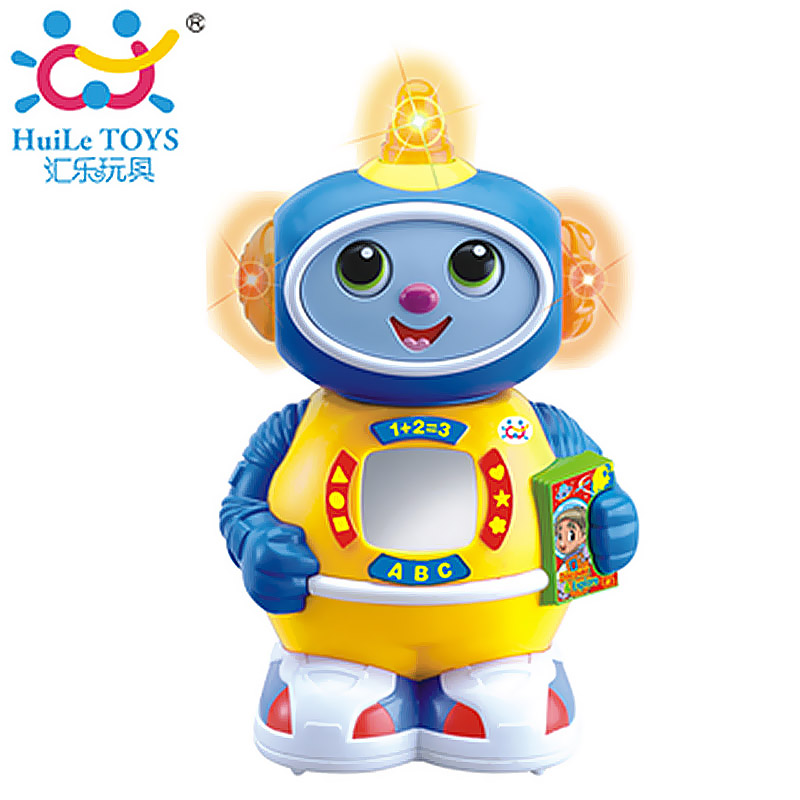 Department of music toy space small robot electric robot music(China (Mainland))