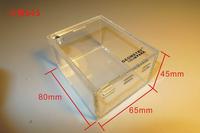 Acrylic mosquera box 8cmx6.5cmx4.5cm scorpion reptile tank feeding box