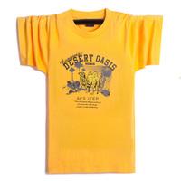 Male hip-hop hiphop short-sleeve T-shirt men's clothing plus size plus size short-sleeve t shirt 100% cotton bright color