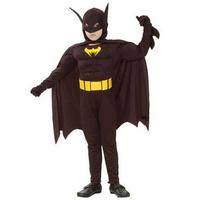 Halloween costumes Children batman Masquerade party costumes free shipping
