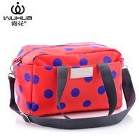 2015 women's fashion handbag storage female backpack shoulder bag polka dot parent-child nappy bags