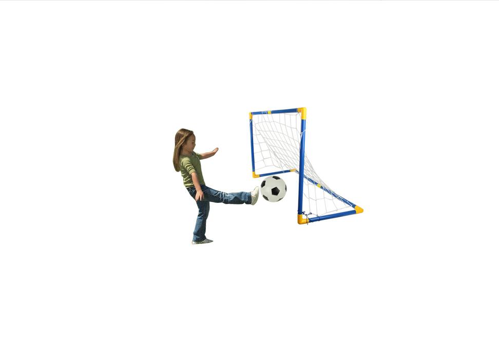 Mini Football /Soccer Set Kids Funny Outdoor Sports Game Toys Child Ball Kits New(China (Mainland))