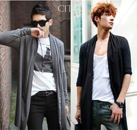 Free shipping!2014 Hot Mens Long Sleeve Cardigan,Males Pull style cardigan Clothings Fashion Sweaters
