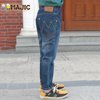 Children's clothing  spring and autumn male child jeans trousers all-match child trousers