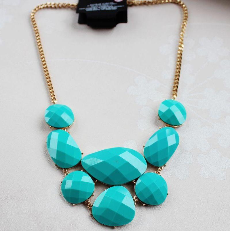 ew-13 acessórios de moda moda feminina jóia cor dos doces design colar curto(China (Mainland))