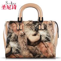 Women's bags 2014 women's the trend of fashion handbag leopard print banquet big bag handbag shoulder bag cross-body