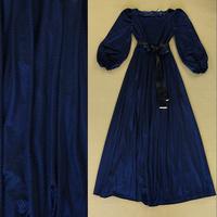 Fashion AUTUMN DRESS 2014 Puff sleeve lacing elegant expansion bottom evening dress formal dress Full dress