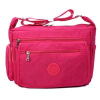 Fashion women's handbag 2014 trend shoulder sports travel bag casual bag messenger bag backpack nylon canvas bag