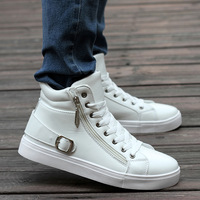 New 2014 Men british style skateboarding shoes fashion casual shoes male sport flats sneaker shoes for boy classic dance shoes