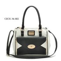 2014 Dual-use bag crocodile pattern japanned leather female ol bags Shoulder bag messenger bag OL outfit women's handbag