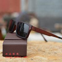 Ultra-light tungsten carbon glasses frame myopia general magnet polarized sunglasses driving glasses