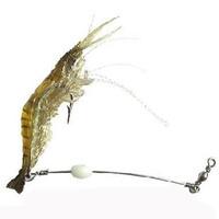 Luminous lure hook shrimp freshwater general bait to be bait fishing lure shrimp 10cm6g fishing tackle