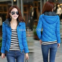 2014  Free shipping women's slim short duck  down coat design thickening winter  size  S-XXXL