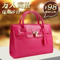 Women's bags 2014 for Crocodile handbag bag platinum bridal bag women's handbag big bag large capacity