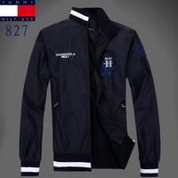2014 new autumn and winter fashion new men's U.S. business men cotton jacket lapel coat big yards Paul 100% cotton man jacket
