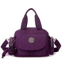 Women's handbag 2014 fashion one shoulder handbag messenger bag waterproof canvas nylon light small bag