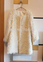 2014 berber fleece roll medium-long warm winter faux fur outerwear