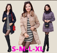 Fashion Warm Plus size Fur Windproof High Collar Jacket for Pregnant women Outwear Maternity winter down coat clothing clothes