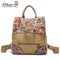 National trend backpack female vintage travel bag 2014 women's canvas handbag school bag personalized backpack