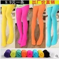 2014 spring and autumn female child pantyhose child dance socks velvet female child socks