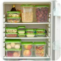 Sealed crisper refrigerator food storage box storage box 17pcs/ set