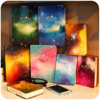 Korean Stationery School Supplies Metal Hard Cover Notebook Notebooks