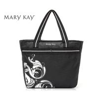 Multifunctional black big capacity waterproof shopping bag mother's handbag nappy bag carry bag