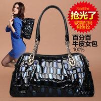 Chain women's handbag for Crocodile 2014 bag fashion shoulder bag leather bag fashion messenger bag