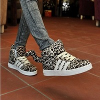 Autumn lovers shoes male the trend of casual shoes male shoes popular leopard print shoes fashion skateboarding shoes