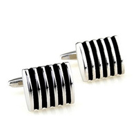 Promotions! High quality French shirt sleeve nails, 316 stainless steel wedding cufflinks, enamel cufflinks men's business