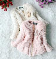 Autumn and winter children outerwear baby girl wool coat baby clothing girls coat children winter wool coat  kids winter clothes