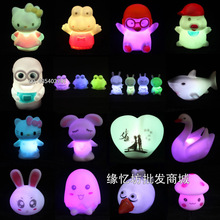 Colorful small night light luminous novelty night light toy(China (Mainland))
