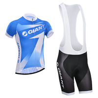 New giant cycling jersey short Sleeve bike jersey men cycling clothing  Quick Dry (bib) shorts 2014