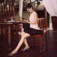 Mfhk - luxury high quality ruffle sleeve length female top t-shirt-Limited