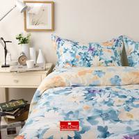 Designer ikea christmas Duvet  Cover Set 100% cotton fresh romantic gentle women princess king size flower quilt covers