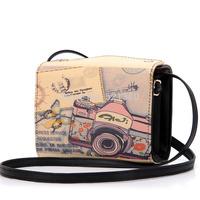 snap button camera single shoulder cross-body messenger bag mini bag fashion women's handbag small bags