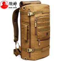 Outdoor Mens Mountaineering Bags Rucksack Men Primer Big 55L Bracket Military Travelling Camping Backpacks Hiking Backpack