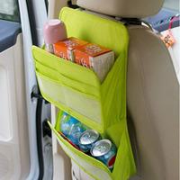 Car sundries back of the car storage bag glove bag car supplies storage bag double layer