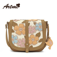 The new 2014 collage flower adornment retro sweet shoulder worn handbag fashion female package