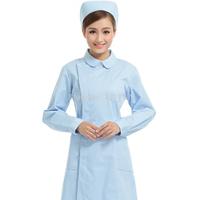 Free Shipping Medical Lab Coat Pink Nurse Clothing Beauty Shop Work Wear Women Lab Coats M-421