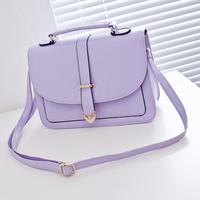 2014 candy color shaping bag cross-body bag fashion women's handbag