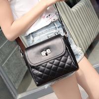 2014 trend female bags plaid bag  cross-body bag small