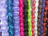 Faux silk rose cushion pillow fabric bedding wedding props sofa home textile