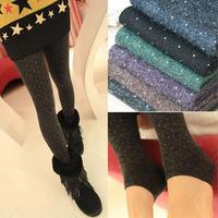 Liangsi lambsdown autumn and winter thickening step foot socks hot-selling warm legging pants