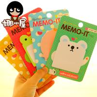 Korean Stationery Animal Memo Pads Sticky Memo Pads