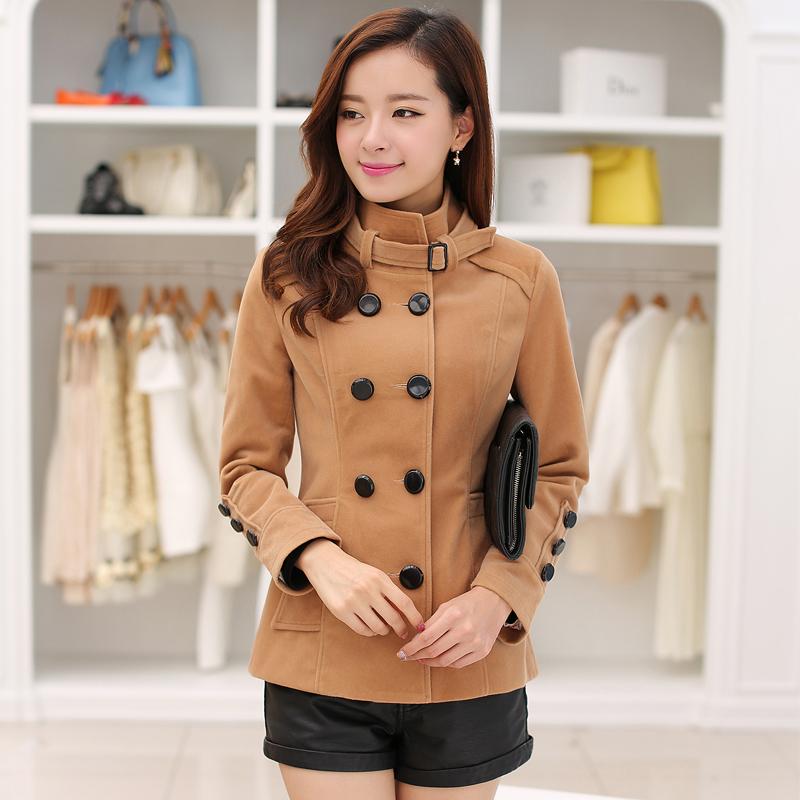 шерсть Женское пальто шерстяной одежды blend